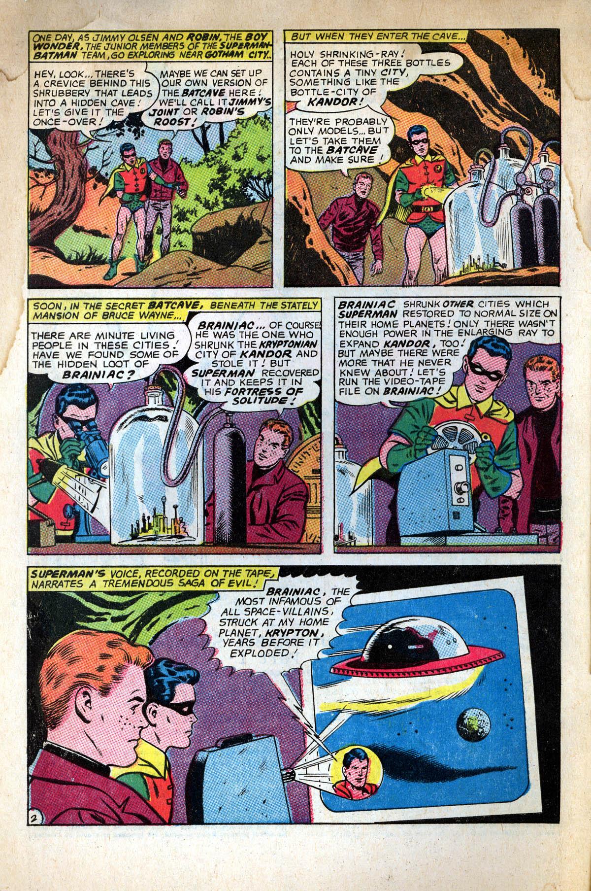 Read online World's Finest Comics comic -  Issue #158 - 4