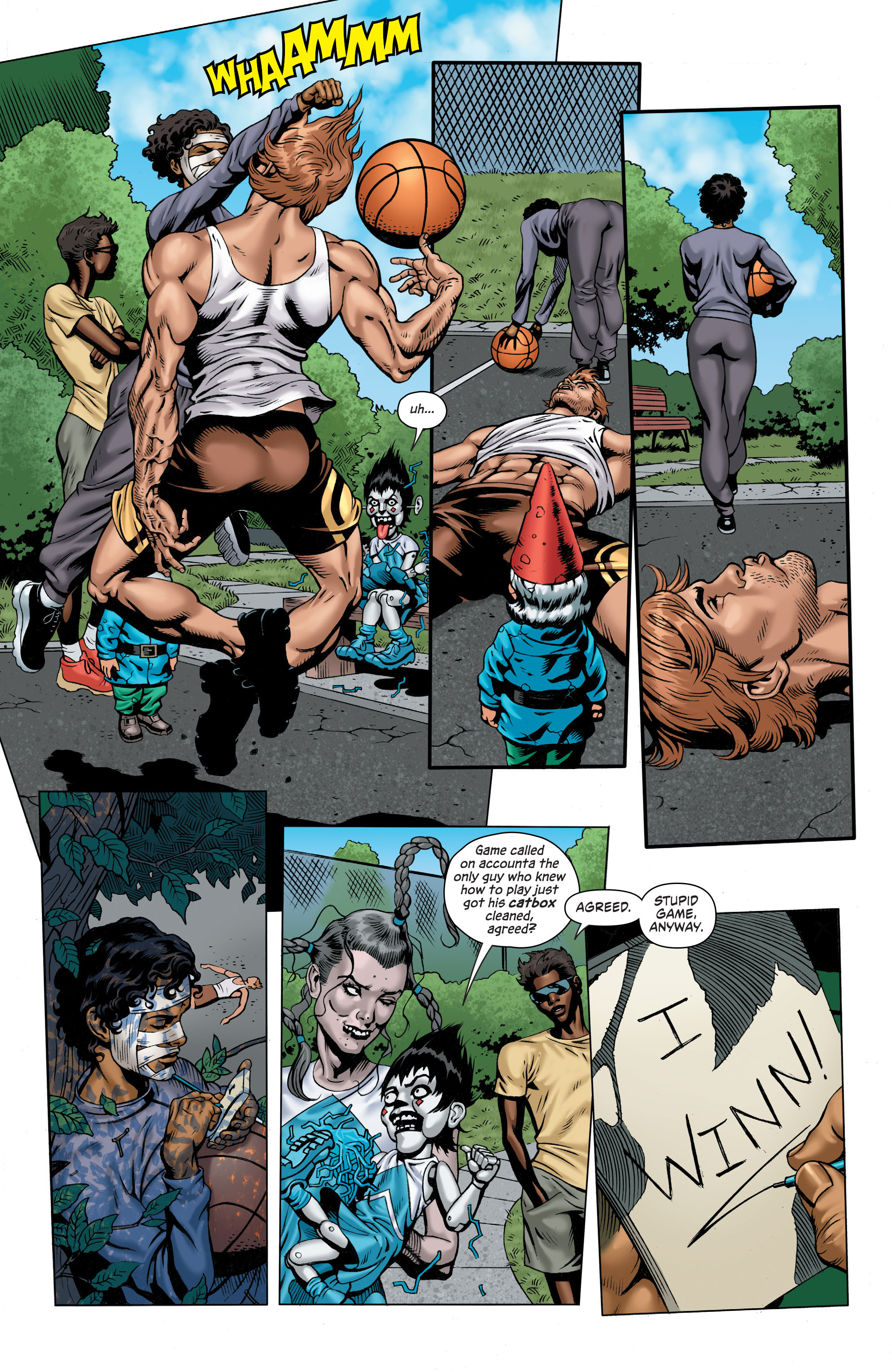 Read online Secret Six (2015) comic -  Issue #7 - 11