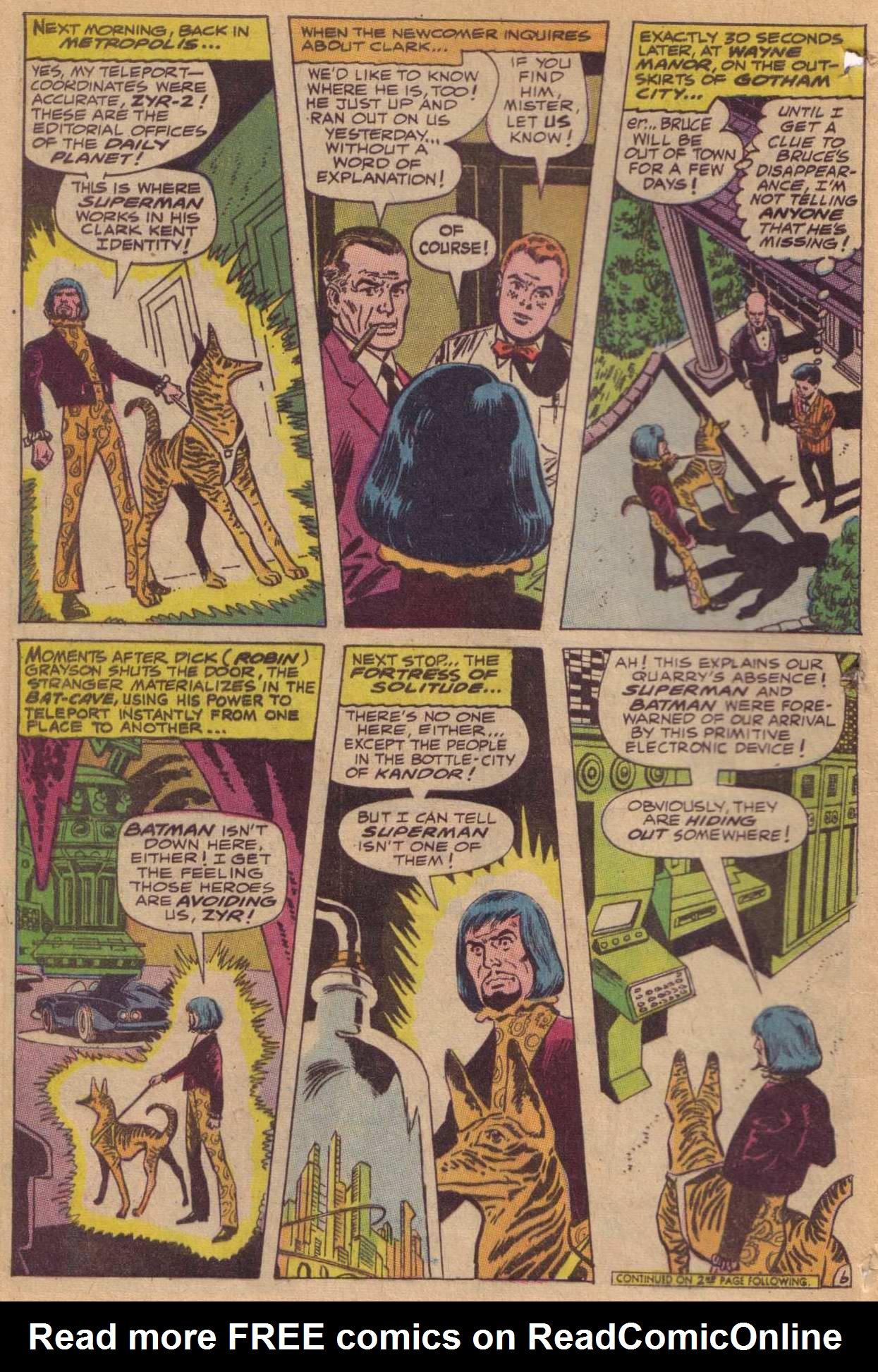Read online World's Finest Comics comic -  Issue #181 - 7