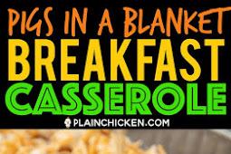 Pigs in a Blanket Breakfast Casserole
