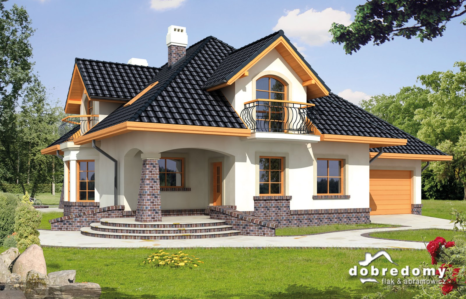 House design bungalow type - The Following European House Design Can Be Imitated Without The Chimney Ideal For Bungalow Type Of House In The Philippines