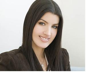 Britta Aragon of skincare line