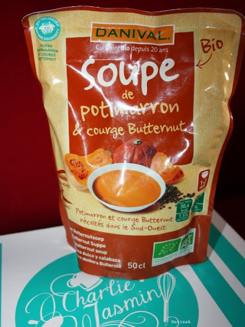 soupe de potiron et courge butternut de la marque Danival
