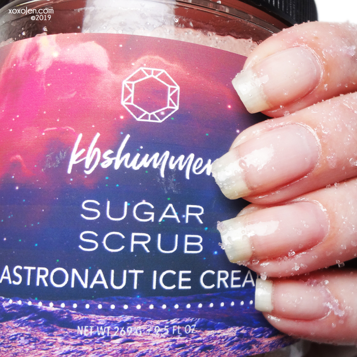 xoxoJen's swatch of KBShimmer Astronaut Ice Cream