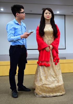 Jia Jia Robot mirip manusia buatan China