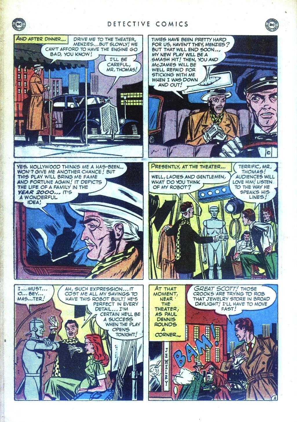 Read online Detective Comics (1937) comic -  Issue #169 - 32