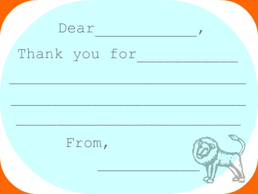 photograph regarding Children's Thank You Cards Free Printable identify Continue to keep Residence Straightforward: Childrens Thank Your self Notes - Free of charge Printable