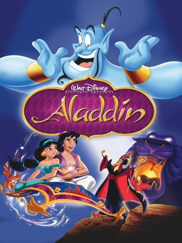 Poster Of Aladdin 1992 720p Hindi BRRip Dual Audio Full Movie Download