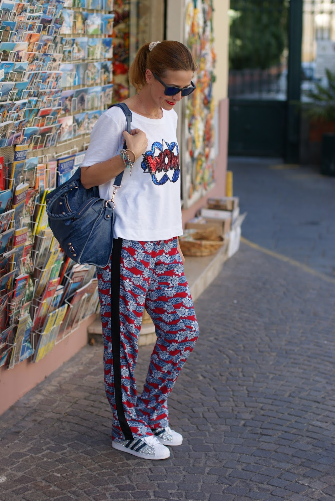What to wear on the Amalfi Coast on Fashion and Cookies fashion blog, fashion blogger style