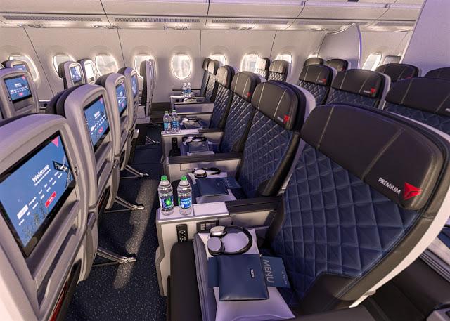 delta a350-900 premium economy