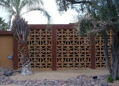 Screen Wall for the Garden