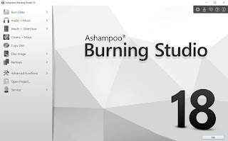 Ashampoo Burning Studio 18.0.8.1 Full Crack