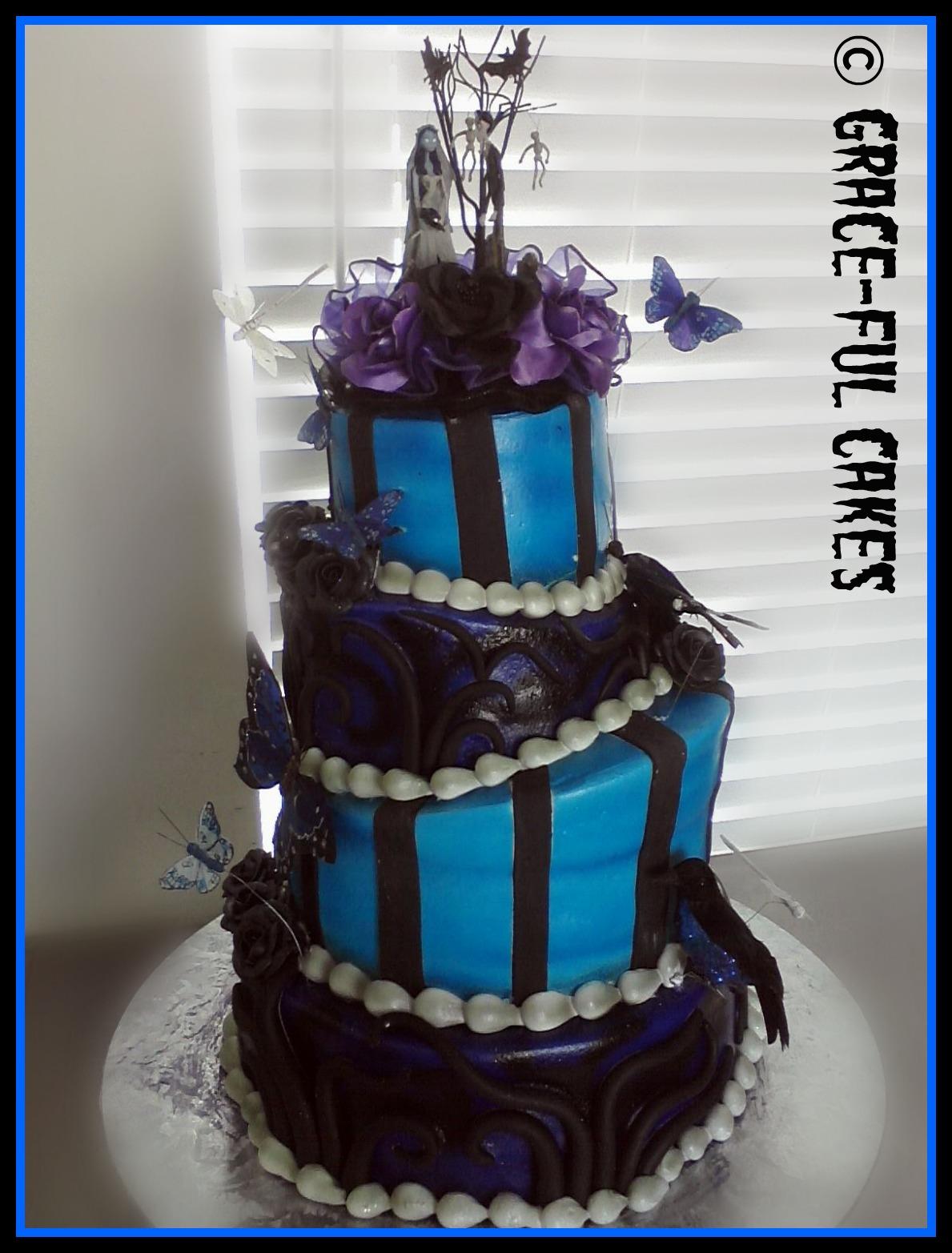 weddinganniversary cakes corpse bride wedding dress Wedding Dress Cupcake Cake