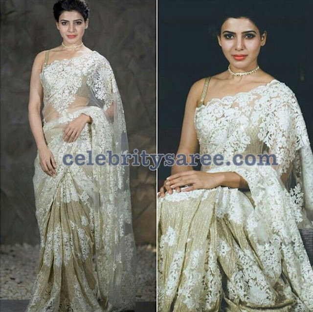 Samantha in Rabani and Rakha