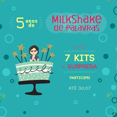 Sorteio de Aniversário do Milkshake de Palavras