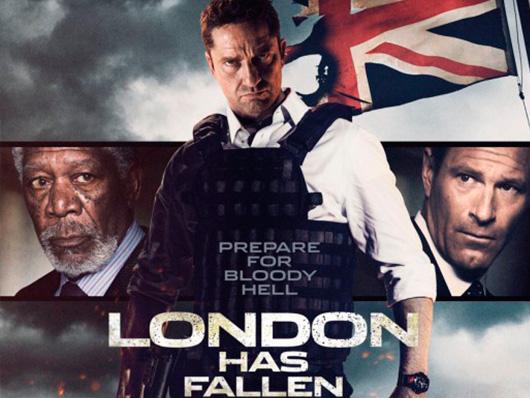 Remesa de pósters internacionales de 'Objetivo: Londres'