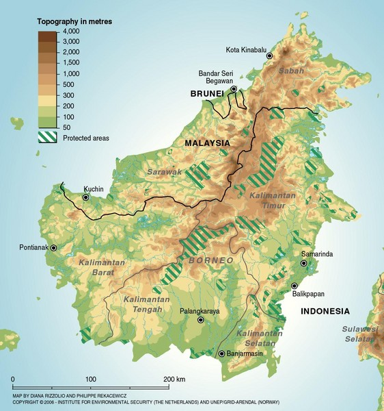 Borneo Island: Indonesia Everything