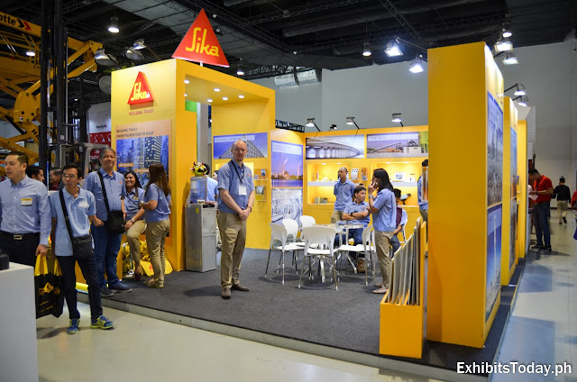 Sika Exhibit Booth