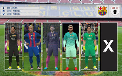 PES 2016/PES 2017 Barcelona 16/17 Full KitPack by MRI_20