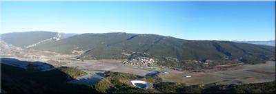 Panorámica desde la cima de San Vitores