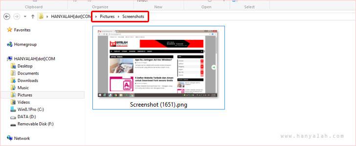Cara Mudah Mengcapture/Copy Layar Komputer dengan Print Screen