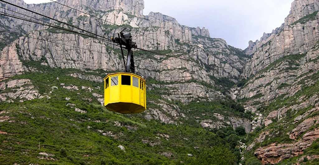 El teleférico de Montserrat
