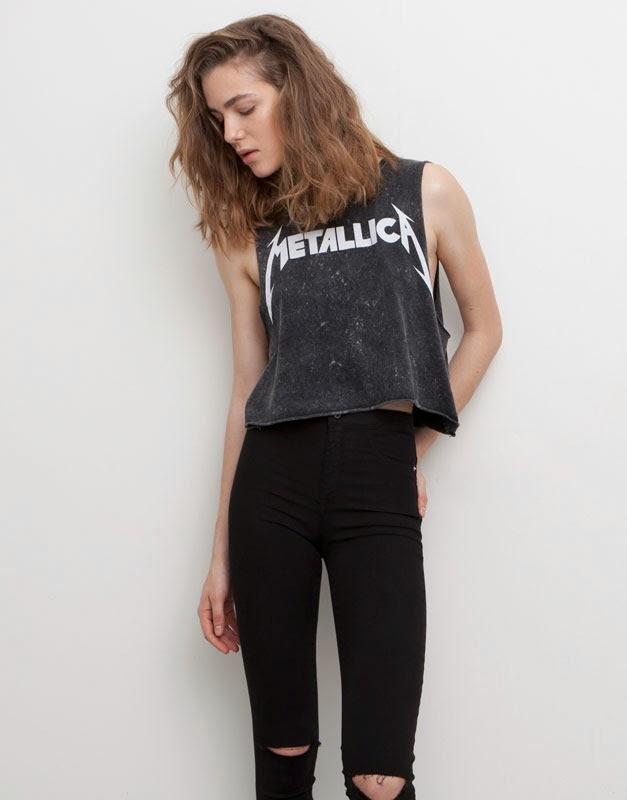 Pull&Bear_Metallica_camisetas_festivales_festival top