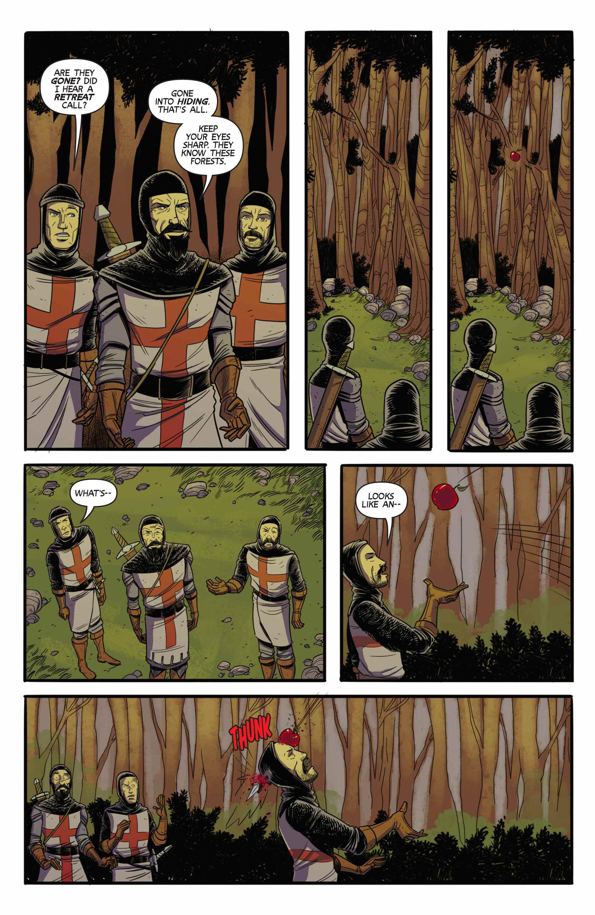 Read online Turok: Dinosaur Hunter (2014) comic -  Issue # _TPB 3 - 85