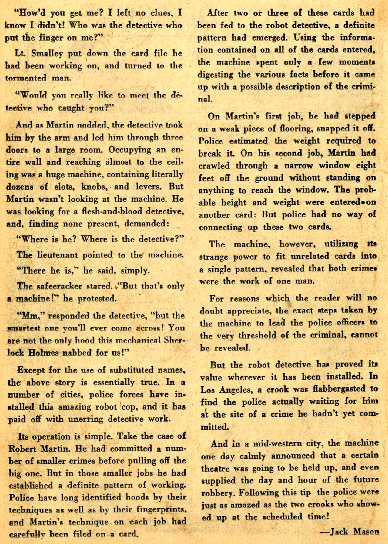 Read online Detective Comics (1937) comic -  Issue #205 - 32