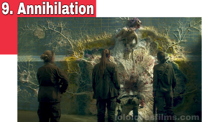 Annihilation 2018 Netflix movie Jennifer Natalie Portman Tessa Thompson Gina Rodriguez Jason Leigh