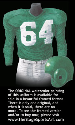 Philadelphia Eagles 1953 uniform