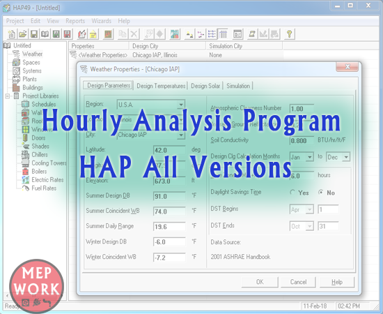 Carrier, Download HAP, HAP, Hourly Analysis Program, HVAC, Load Estimation, Program, Software,
