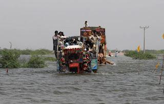 monsoon rains across Pakistan