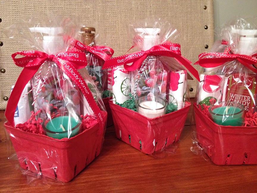Sohl Design: Christmas Mini Gift Baskets