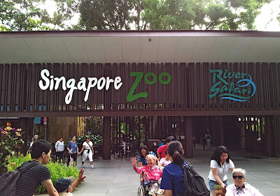 Singapore Zoo main entrance