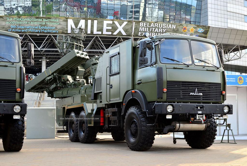 MILEX-2019: версія ЗРК «Оса» на базі автомобіля МАЗ-6317