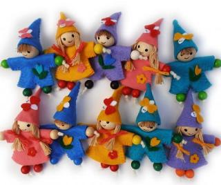 muñecos-fieltro