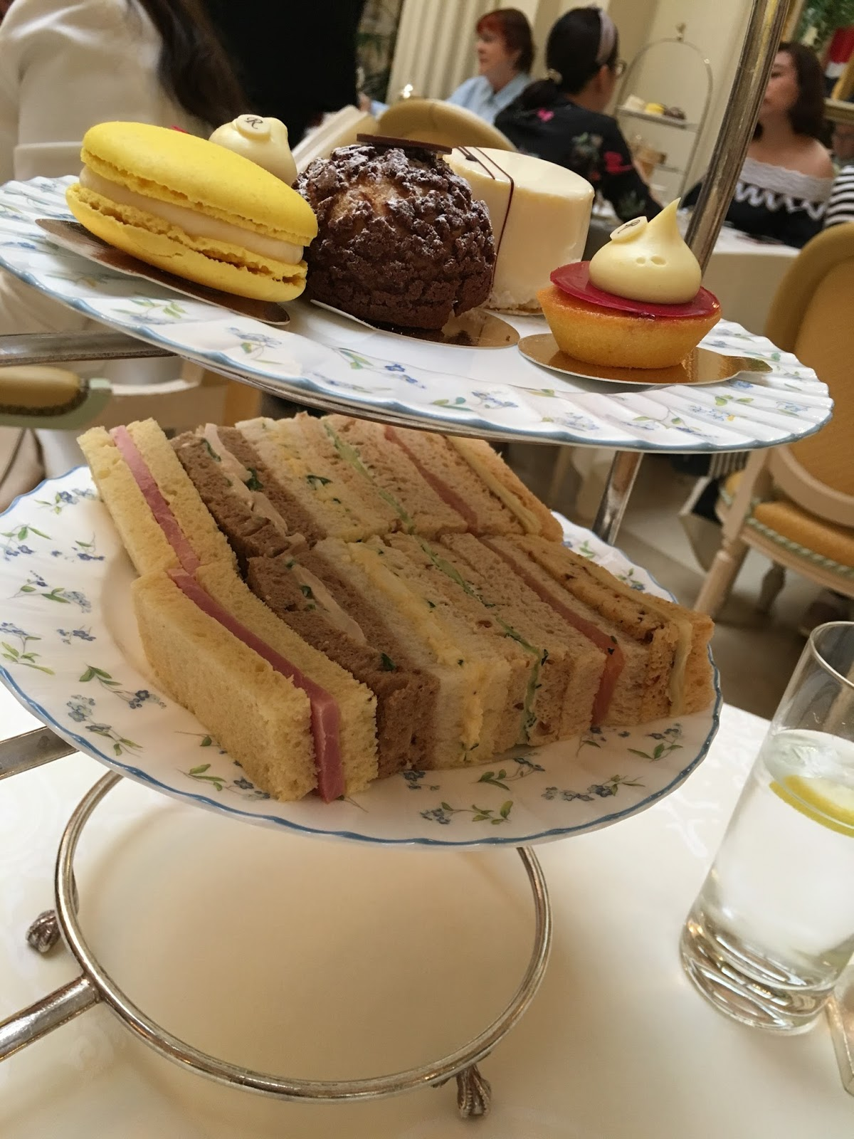 The Ritz afternoon tea London review cakes
