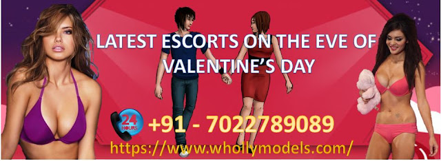 High Profile Escorts on the Eve of Valentine's Day