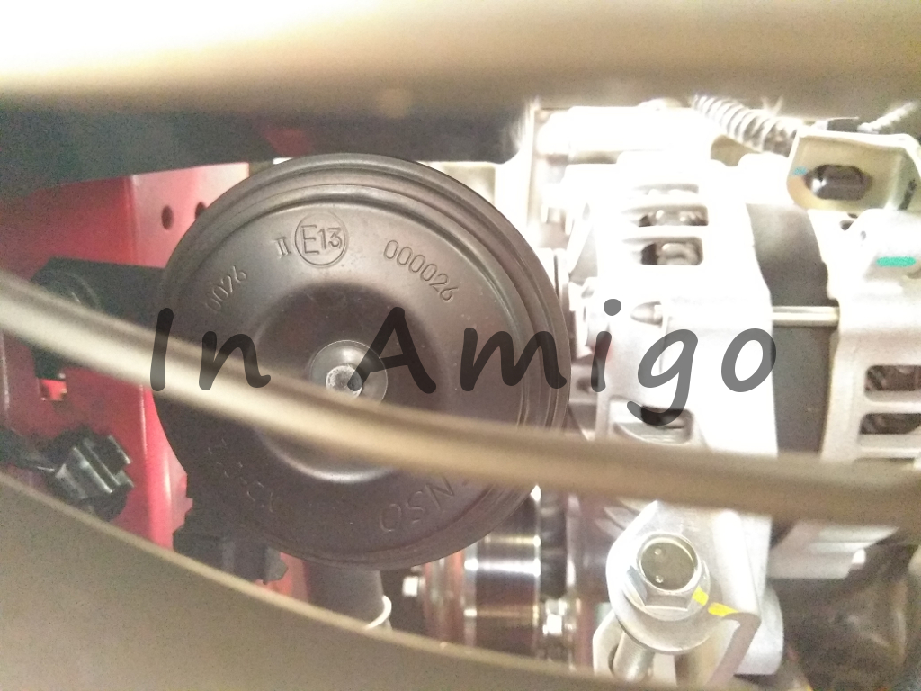 medium resolution of frustrated about this i went to test both input cable between the horn at the back of front bumper grille and the horn at upper strut mount using a