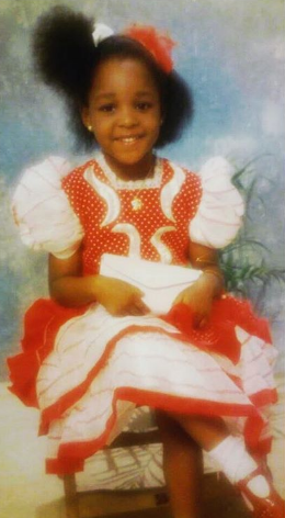 Image result for Anita Okoye shares childhood photo