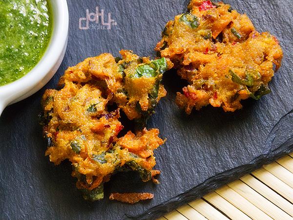 Bhajias - India en #CocinasDelMundo