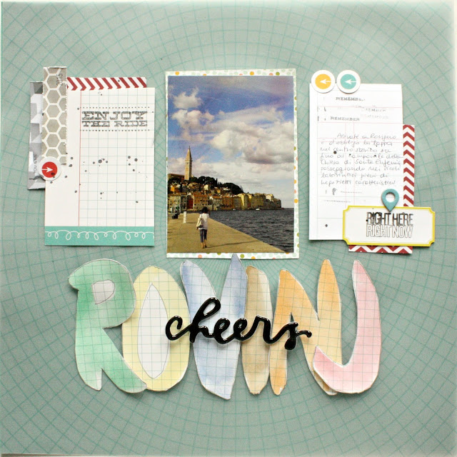 arielonza.blogspot.com scrapbooking layout rovinj - scrap dreams challenge