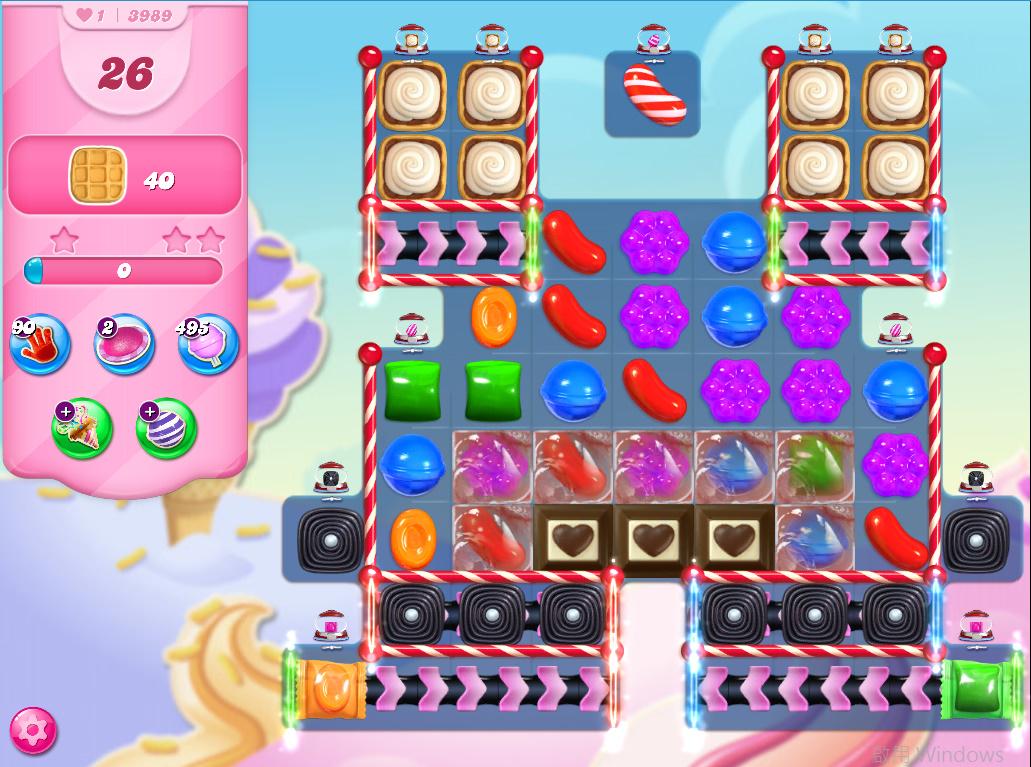Candy Crush Saga level 3989