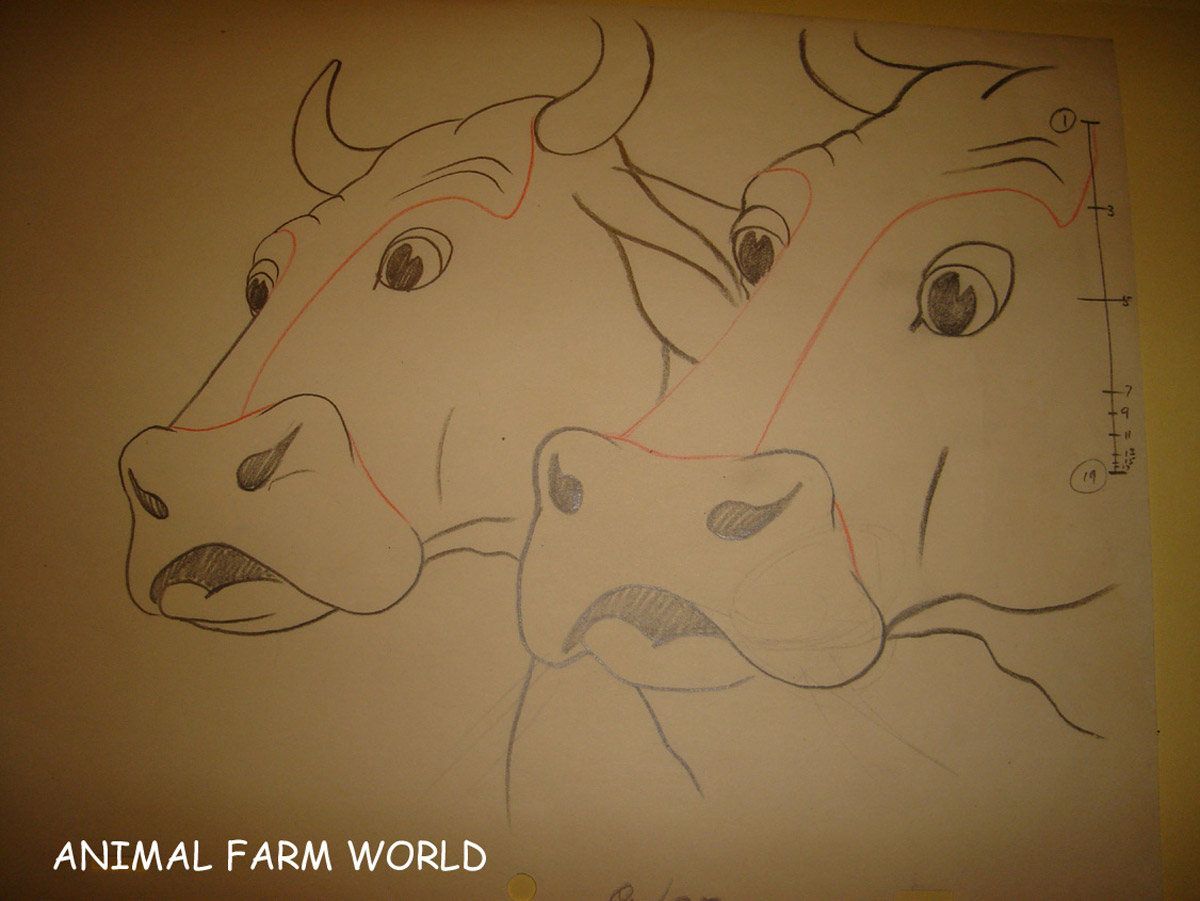It is a graphic of Invaluable Drawing Of Farm Animals