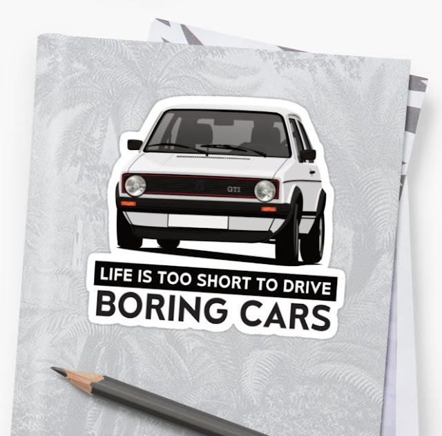 VW Golf I GTI - stickers