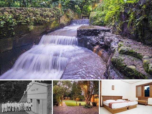 Sensasi Mandi dari Sumber Mata Air di The Cipaku Garden Hotel