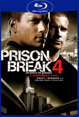 Prison Break 4° Temporada (2009) BluRay Rip 720p Torrent Dublado