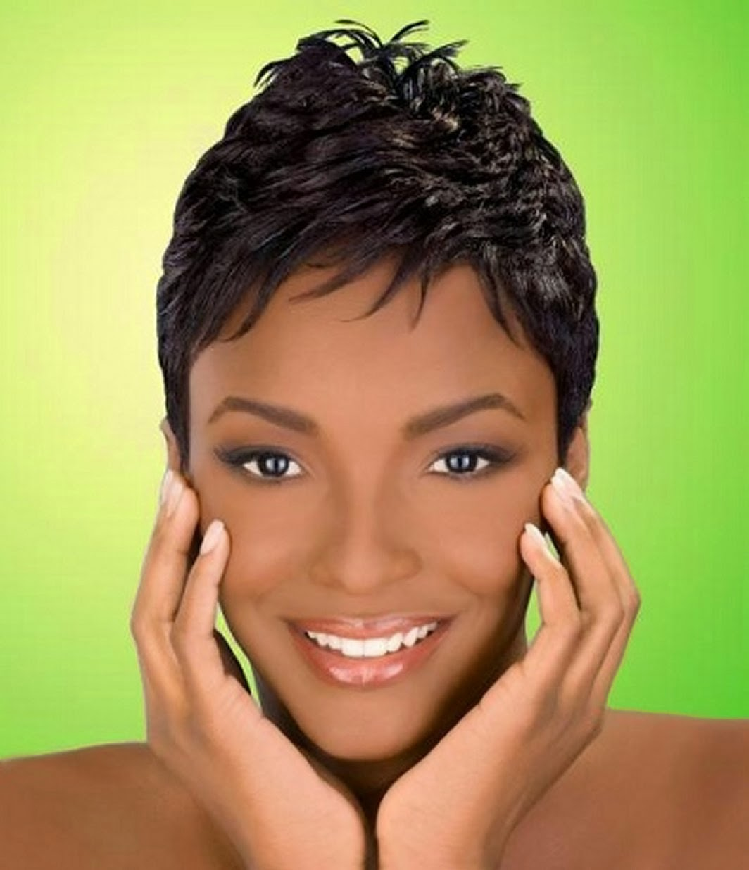 Peachy Good Short Hairstyles For African American Women Hairstyles For Men Maxibearus