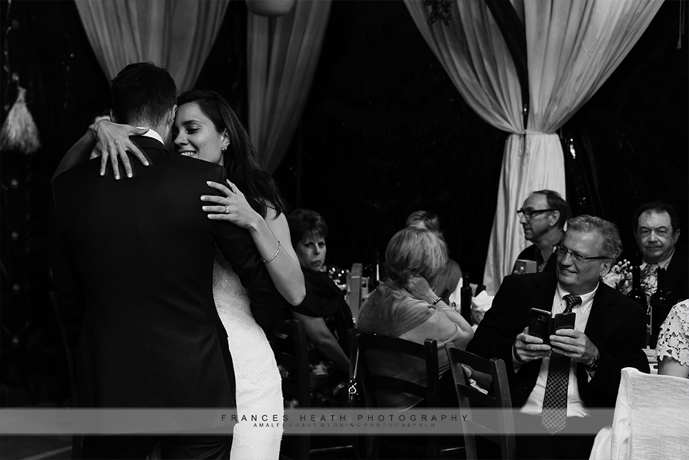 First dance in Positano